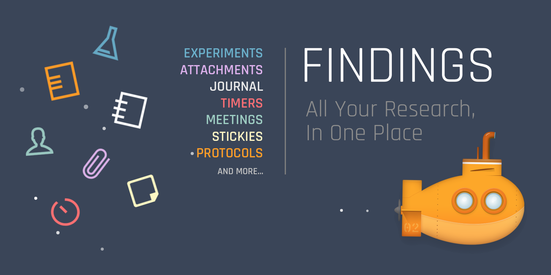 Findings - All Your Research, In One App